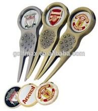 golf divot repair tool, custom logo ,divot tools