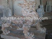 Lifelike Stone Lion Carving OEM Design(Factory)