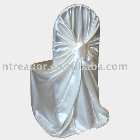 white universal chair cover for weddings buy self tie chair cover