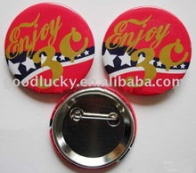 2012 hot sell advertising promotional pin button badge