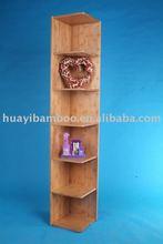 Bamboo corner shelf
