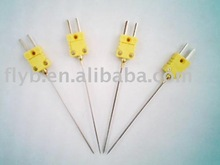 Mini Pointed Probe Thermometer K Type Food Thermocouple Meat Contact BBQ temperature Probe