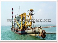 River sand pump dredger
