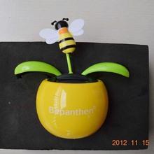 apple flower with solar energy