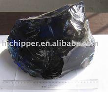 Crushed glass granule