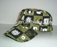 2012 fashion cotton military cap