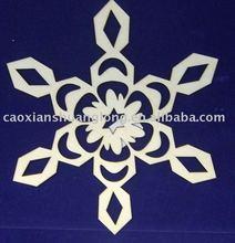 laser cut hanging holiday decoration