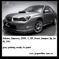 V-lIP Front bumper lip for impreza 2009