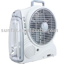 (SF-383A) 8''Rechargeable AC/DC FAN