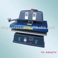 swing away pneumatic heat press machine