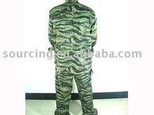 Tiger Stripe Camo Woodland Field Uniform Set