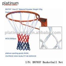 Basketball Net(Polyester 12 hooks, 8 section)