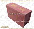 forma de libro caja de madera