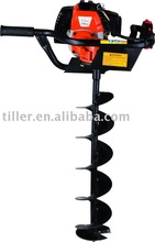 gasoline power 49cc Ground driller/earth auger/hole digger