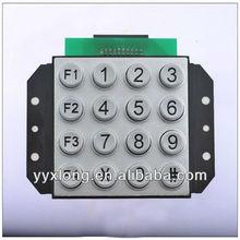16 round shape keys public telephone keypad