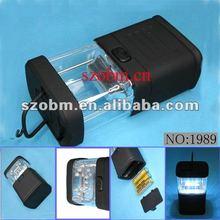 11 LED Plastic Pensile Handheld Light-Black
