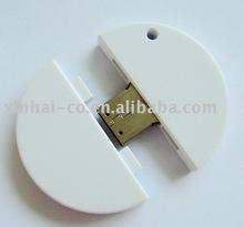 Circular coin USB flash drive support duplex HD Photo Printing