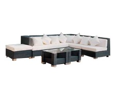2012 new style wicker sofa set patio furniture