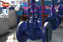 low price rising stem bellow sealed globe valve ARI TYPE J41H ARI type