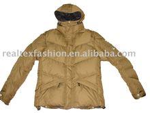 super warm ladies' down coat garment
