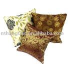 fashionable flower printed cushion cover