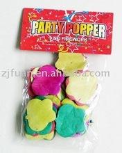 confetti /frisbee confetti/party confetti/apple shape