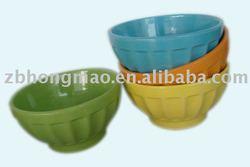 Ceramic Bowls in Glazed Color