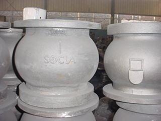 Oem grande de hierro fundido estufa de horno carcasa