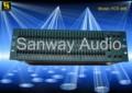 El procesador de audio, ecualizador gráfico( fcs 966)