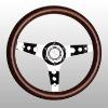 chrome wood Steering Wheels