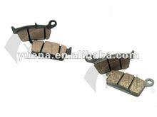 good quality motorcycle brake pad/brake rotor/brake shoes 100% Non-asbestos