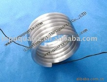 Far IR Spiral quartz heating elements,Quartz Coil heater (CE,SGS,ROHS Certicifications)