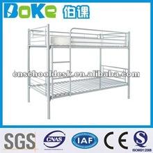 Silver metal bunk bed/school bed