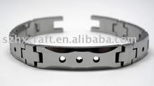 newest design wide alloy bracelet copper bracelet 2012