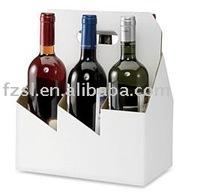 PWXSL009 six bottle paper wine carrier