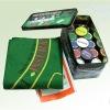 200 Tin box poker chip set