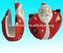 ceramic christmas napkin holder,