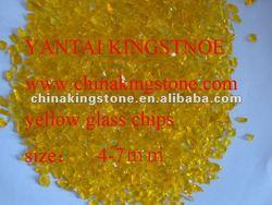 Casting glass powder