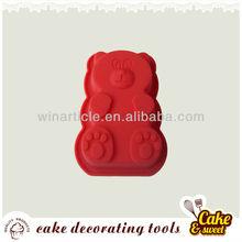 bear silicone cake mold/silicone baking mold