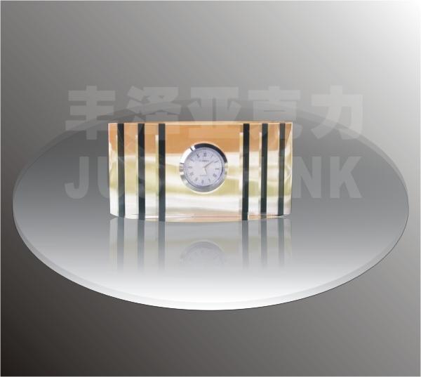 custom office decorative table clocks FZ-C-0016