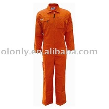 coverall for industry,oil field work uniform,working uniform for fireman