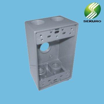 Aluminum outlet box