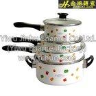 Enamelware pot 7pcs/set 150DG