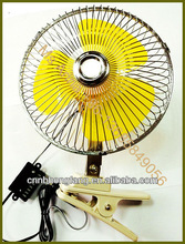 DC 12 volt 8 inch Mini car fan