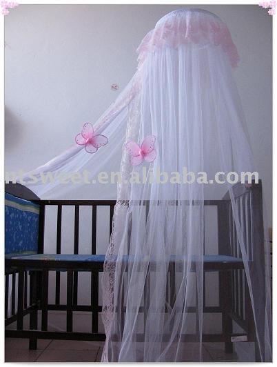 Baby canopy mosquiteros para ropa de cama cuna decoraci n for Mosquiteras para camas
