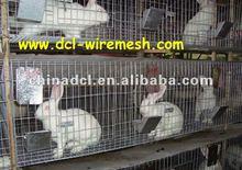 galvanized rabbit cages