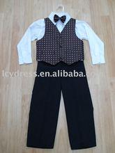 Ragazzo vestito, ragazzo di maglia, bambino quattro pezzi seme