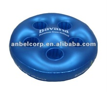 Inflatable Swimming Beer Holder with Five Jaws