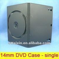 14mm black cd dvd box