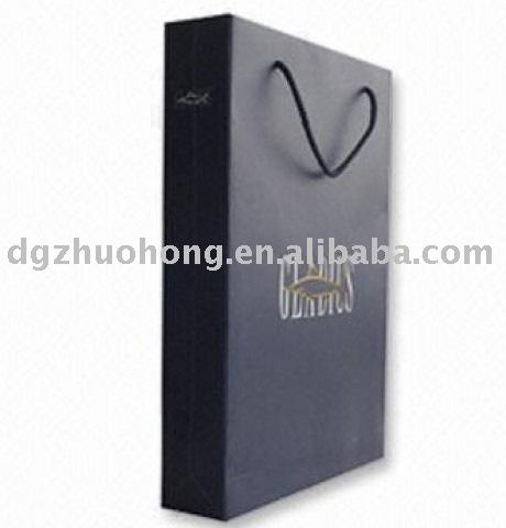 high grade luxury printed shopping bag for brands